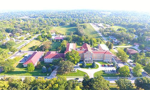 notre dame housing campus