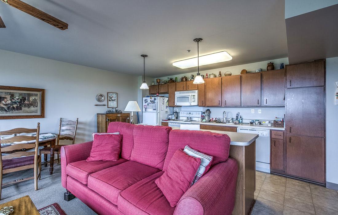 tax-credit apartment kitchen